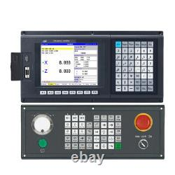 Powerful 3 Axis Updated Lathe & Turnning CNC controller with new English control