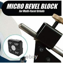 Pro Grind Sharpening System For Lathe Turning Tools, Chisels, Skews, Gouges, Jig