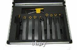 Rdgtools 9pc Indexable Lathe Turning Grooving Threading Set 10mm