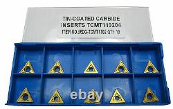 Rdgtools Tcmt 11 Carbide Tips / Inserts / Indexable Lathe Turning Tools