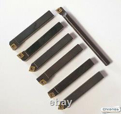 Set of 10mm Glanze Indexable Lathe Turning Tools 777103