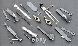 Shop Fox 20 Pc Small Metal Lathe Turning Boring Layout Tool Kit Metalworking New