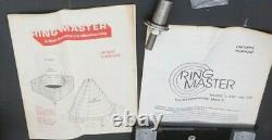 Shopsmith Ringmaster Ring Master Lathe Turning Tool WithManuals & Extra Blades