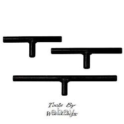 Solid Bar Tool Rest 3 Piece Set Wood Turning PSI Lathe Woodturning Fast Shipping