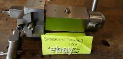 Spherical Turning tool Lathe Ball plus internal holder use on Myford super seven