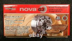 Teknatool Nova G3 Wood Turning Chuck with 50mm Jaw Set 48202 BRAND NEW