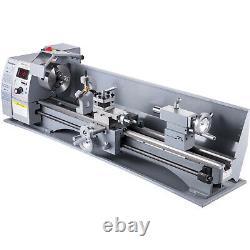 VEVOR Mini Metal Turning Thread Lathe Machine Wood Drilling 8 x 32 Woodworking