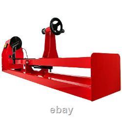 VEVOR Wood Lathe 14 x 40 Power Wood Turning Lathe 120V 400W 4 Speed Benchtop
