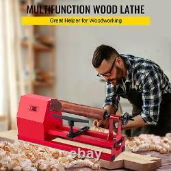 VEVOR Wood Lathe 14 x 40 Power Wood Turning Lathe 14 x 20 Small Lathe