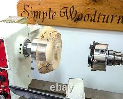 Vacuum Chuck for Wood Lathe Jet Grizzly Delta Oneway Oliver bowl turning turner