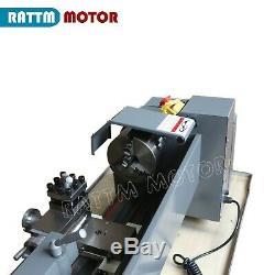 WM210V Metal Lathe Machine Thread Jade Metal Wood Turning 750W Brushless Motor