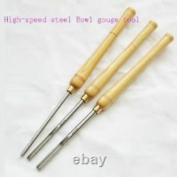 Wood Lathe Turning Set Bowl Gouge Woodturning Woodworking Long Carpentry Tools
