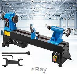 Wood Lathe Wood Turning Lathe Machine 10 X 18 5 Speed 760-3200 RPM BenchTop