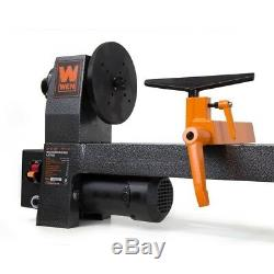 Wood Turning Lathe Benchtop Variable Speed Woodturning Tool Centering Drilling