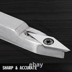 Wood Turning Tools for Lathe, Carbide Lathe Tools 4 PCS, Turning Lathe Chisels