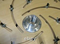 Woodturning Wood Lathe Longworth Chuck 16 Bowl Turning Tool Jig 1 1/4 x 8TPI
