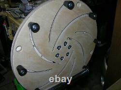 Woodturning Wood Lathe Longworth Chuck 16 Bowl Turning Tool Jig 1 1/4 x 8 TPI
