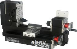 ZHOUYU 36W Mini Metal Wood-turning Machine Power Tool Woodworking Modelmaking