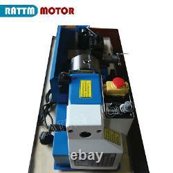 0618 Mini-tour Machine Tournage De Bois Fil Métal Drilling Traitement Perles 550w