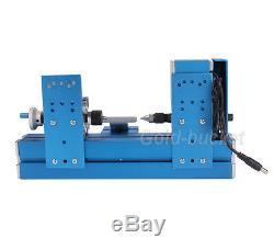 24w Mini Métal Bois-modèle Bricolage Tournant Tour De Machines-outils Du Bois Power Tool