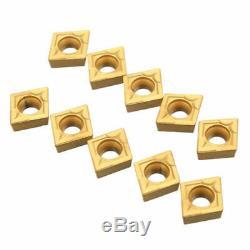 5 Sclcr06 6/7/8/10 / 12mm Lathe Barre D'alésage Tournant Porte-outil 10 D'insertion Ccmt0602