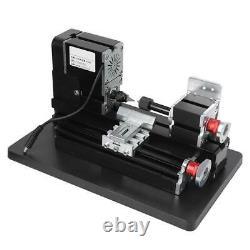 60w Metal Mini Turning Lathe Machine Motorized Metalworking Diy Wood Tool (en)