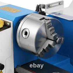 7''x14'' Blue Mini Lathe Metal Digital Cj18a Turning Milling +accessoire Package