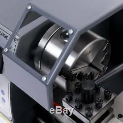 8x14 Numérique En Métal Turning Mini Tour Machine Automatique Métal Bois Fraisage Bricolage