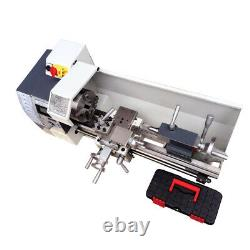 8x16 Precision Inch Thread Métal Lathe Brushless Motor Bench Turning Machine
