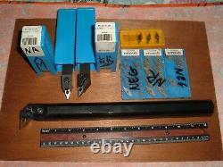 Barre Ennuyeuse Tournant Lot 3 Lathe Tools (26) Insère Carboloy Vnmg Vngp Vngg 331