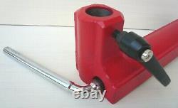 Base De Repos D'outils De Tour De Bois Deluxe 12 + Cam Lock + 8 Courbes Repos D'outils Nouveau