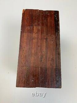 Belle Cocobolo, Cocobola Turning Wood Bowl Blank Lathe Block 6 X 6 X 3