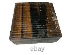 Belle Ebony Palemoon Tournant Wood Bowl Blank Lathe 8 X 8 X 4-1/4