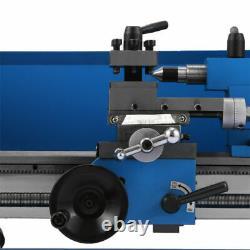 Blue Mini Lathe Metal Digital Cj18a Turning Milling 7''x14'' +accessoire Package