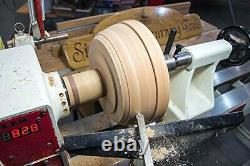 Carbide Tipped Wood Turning Outils Ensemble, Dernière Lathe Rougher Finisher Swan Neck