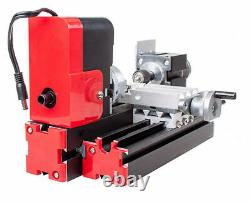 DC 12v Diy Mini Wood Metal Motorized Lathe Machine Woodworking Turning Tool États-unis