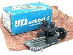 Emco Unimat 3 Mini Lathe Top Slide For Taper Turning, Réf. 150190, Nouveau
