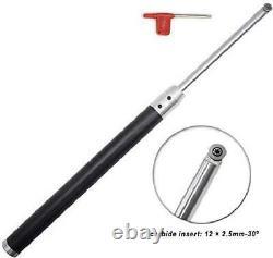 Ensemble D'outils De Rotation Du Bois Carbide Tipped Lathe Finisher/rougher/detailer/hollower To