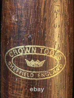 Hand Made Crown Tools 5 Pc Turning Lathe Set Sheffield Angleterre
