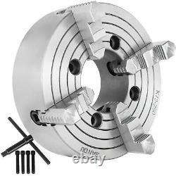K72-250 10 4jaw Lathe Chuck Independent 1800 R/min Machine De Fraisage Tournage En Bois