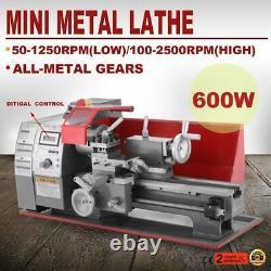 Machine De Tour De Métal 2500rpm Usinage Automatique 600w Mini Menuiserie