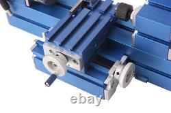 Metal Mini Turning Lathe Motorized Metalworking Machine Wood Diy Tool For Hobby