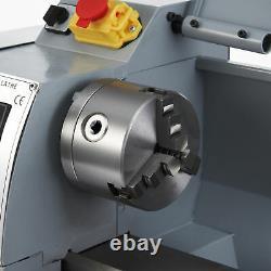 Mini Lathe Machine 2500rpm Pour Tourner Le Forage De Coupe Filetage Métal 8x14in