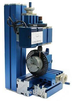 Mini Métal 8 3 Machine Polyvalente Machine De Bricolage Lathe Tool Kit-tournage Sur Bois