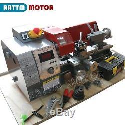 Mini Métal Turning Fil Lathe Machines À Bois Forage Travail Du Bois Wm180v 600w
