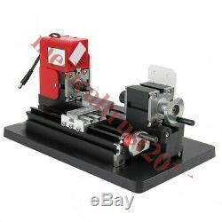 Mini-bois Métal Motorisé Tour Machines À Bois Turning Outil Bricolage 35mmx135mm