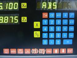 Mtech Sinpo 3 Axes Dro-2l2 Dro Tour À L'échelle D'affichage Numérique 3 Jcxe Us