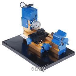 Multifonction Mini Wood Lathe Diy Woodworking Turning Cutting Hobby Beads Q