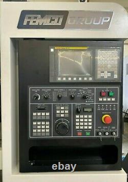 Nouveau Centre De Virage Femco Hl-250 Cnc Lathe Fanuc 0itf Garantie Doosan Hyundai