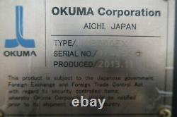 Okuma Lu3000ex II 4 Axes Cnc Turning Center Lathe Nouveau 2013